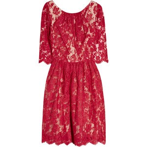 Erdem margot lace dress
