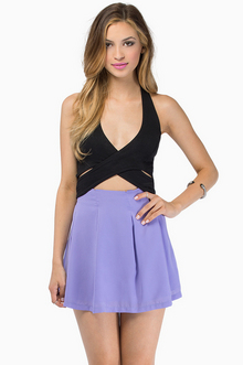 Twist and Halt Crop Top $30