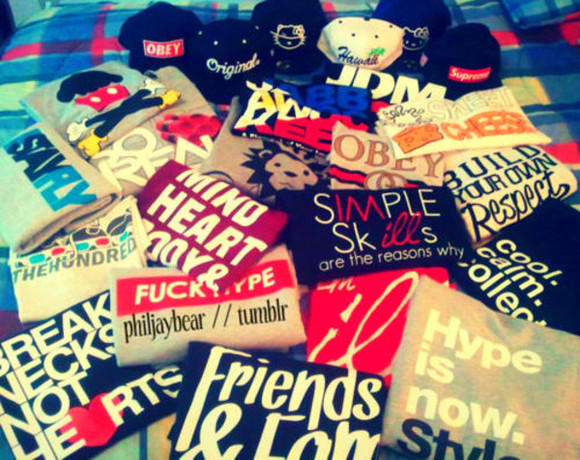 shirt snapback dope supreme obey hello kitty hawaii tshirt tank top tumblr
