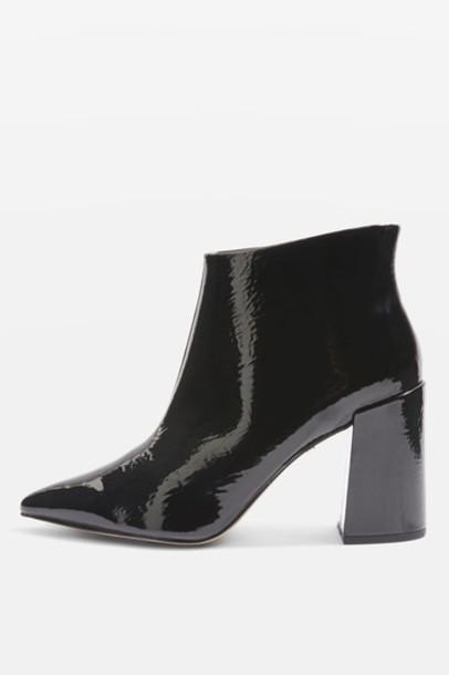 Topshop ankle boots black shoes