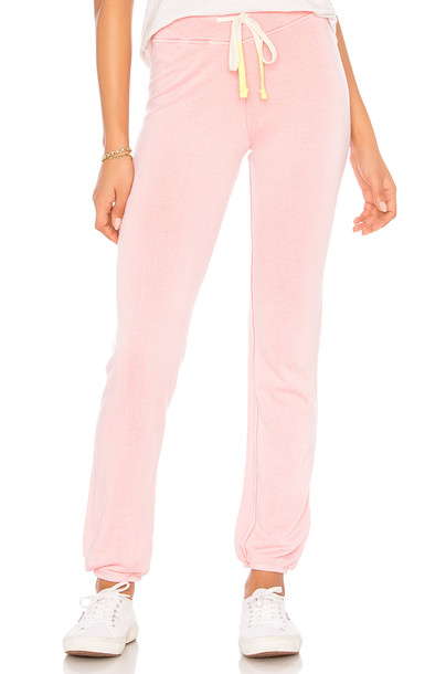 SUNDRY sweatpants pink pants