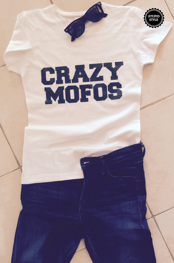 t-shirt t-shirt crazy mofos top