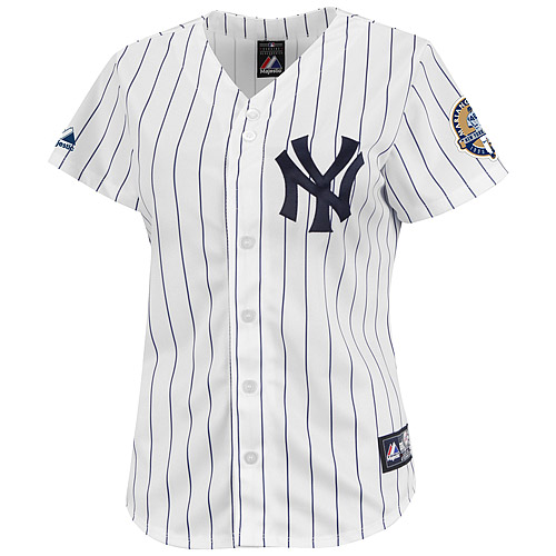 New York Yankees Mariano Rivera Commemorative Patch Women's Player Replica Jersey - MLB.com Shop