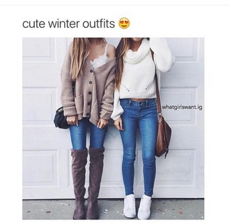 cardigan oversized cardigan instagram winter outfits