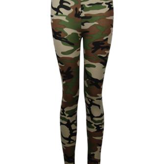 pants leggings daisy street camouflage lovely love beautiful leggings ...