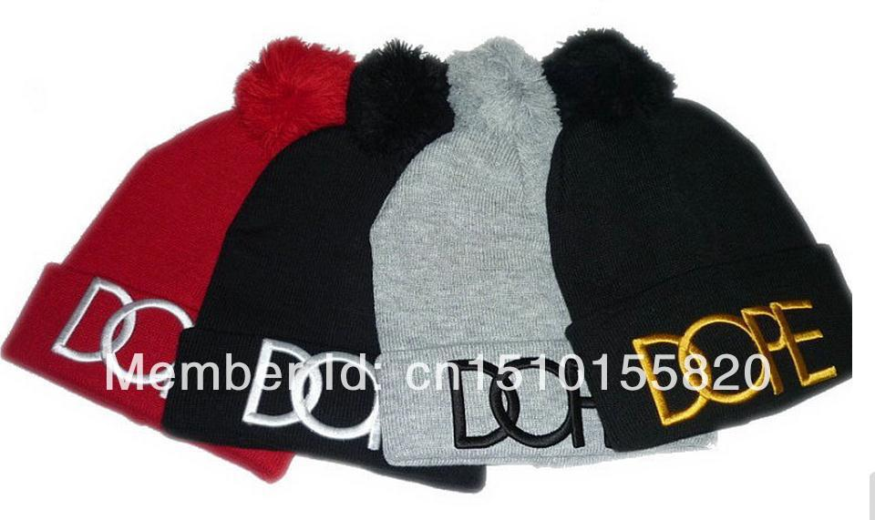 Free shipping DOPE Beanies bboy Stretch Knit Hat Beanie winter hat hip hop hat-in Skullies & Beanies from Apparel & Accessories on Aliexpress.com
