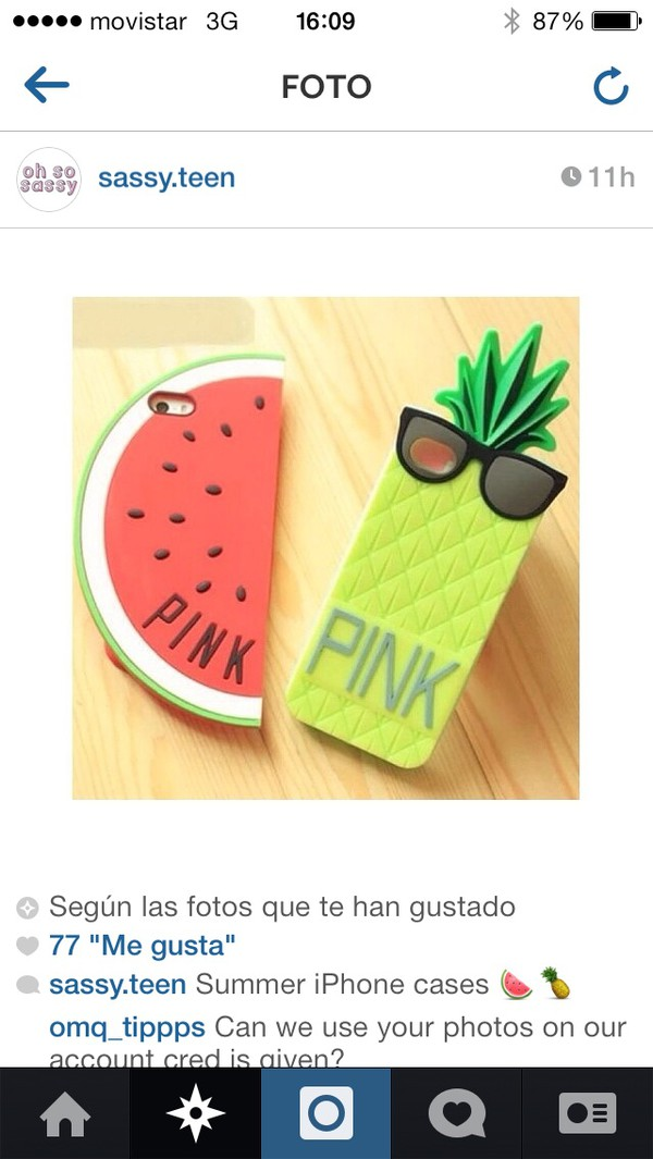 jewels pineapple watermelon iphone cases