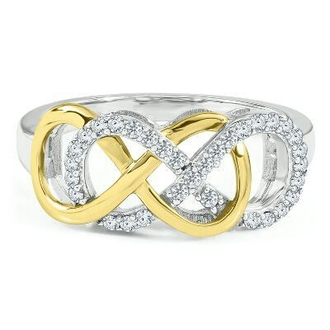 jewels infinity infinity ring diamonds