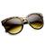 Oversize Womens Designer Cat Eye Sunglasses 8814