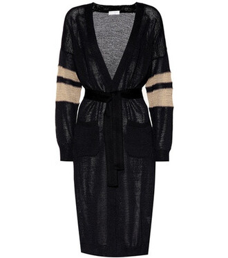 cardigan cotton black sweater