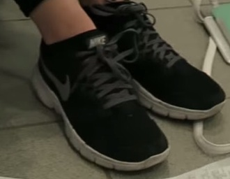 shoes black sneakers nike black nikes grey black with grey nikes running running shoes sneakers nike sneakers