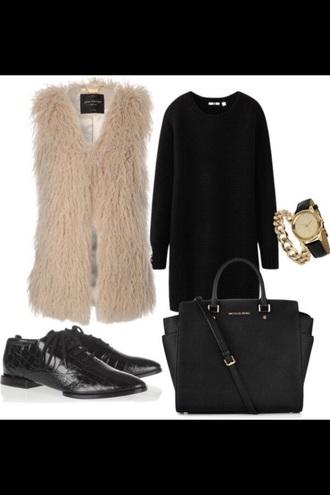 dress black gold chich