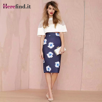 skirt floral print skirt elegant blue skirt blue shoes blue shorts navy blue skirt blue skinny jeans dark blue shirt blue floral print skirt high waisted blue skirt light blue skirt