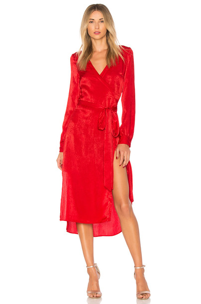 L'Academie dress red