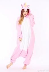 kigurumi animal onesies,pink unicorn onesies,onesie,unicorn,jumpsuit,unicornonesie
