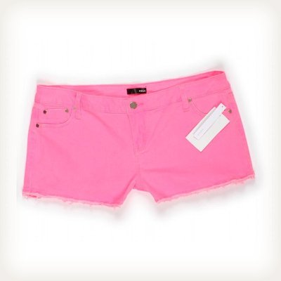 Hot Pink Denim Shorts Sz 31 Jeans on eBay!