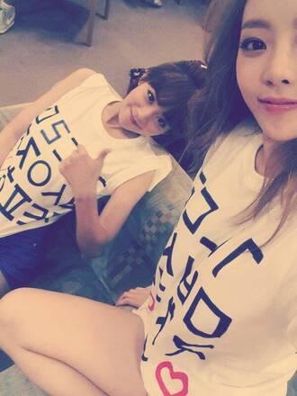 top seungyeon hara kpop kpop tshirt kpop idol kpop star hangeul korea south korea seoul