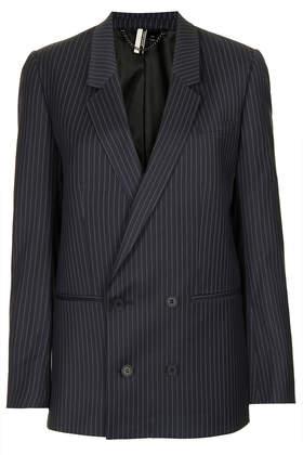 Modern Tailoring Pinstripe Suit Blazer - Topshop USA
