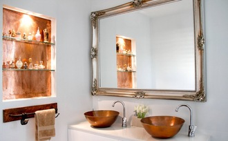 home accessory tumblr home decor mirror bathroom