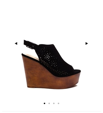 shoes black wedges shoes black wedges