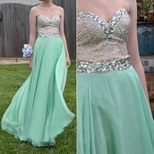 dress,sweetheart prom dress,beading prom dress,chiffon prom dress,beauty0516