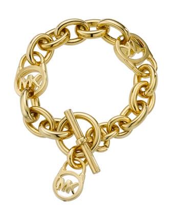 Michael Kors Logo-Lock Charm Bracelet - Michael Kors