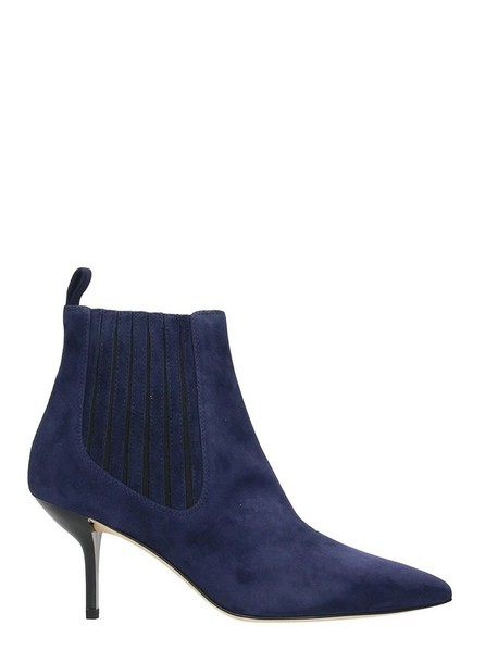 Diane Von Furstenberg suede ankle boots ankle boots blue suede shoes