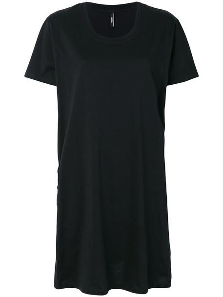 Versus dress shirt dress t-shirt dress women cotton black