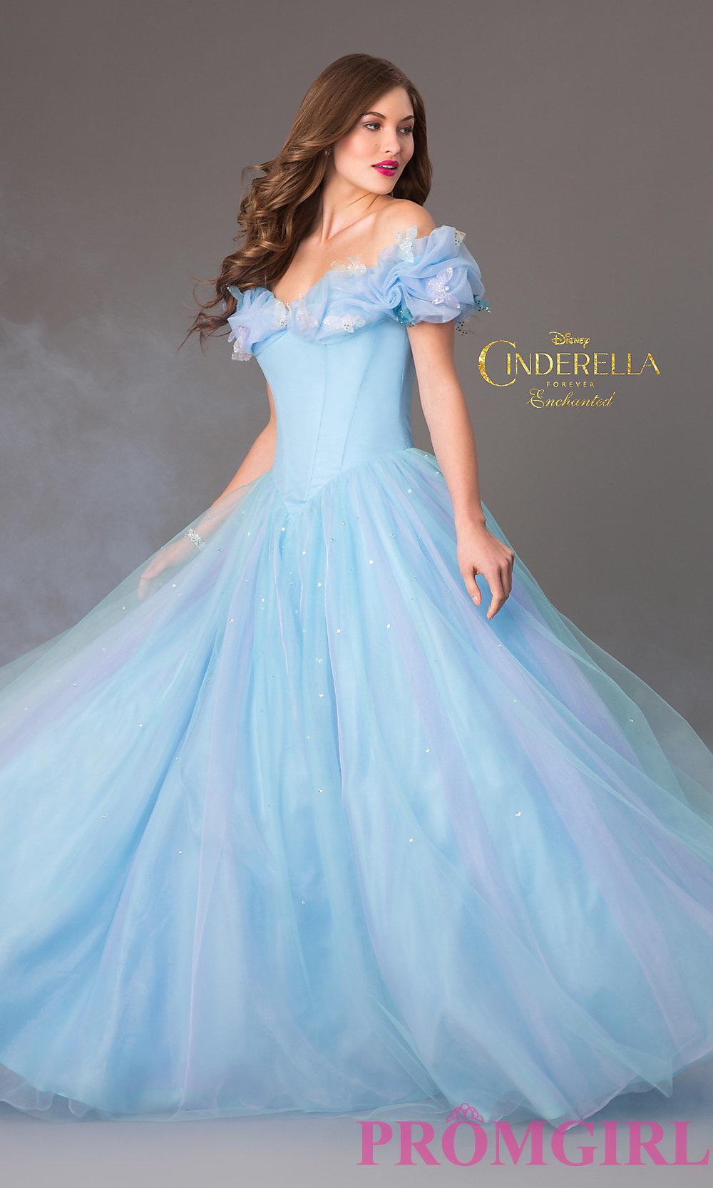 dress, cinderella dress, cinderella blue dress, cinderella, prom ...