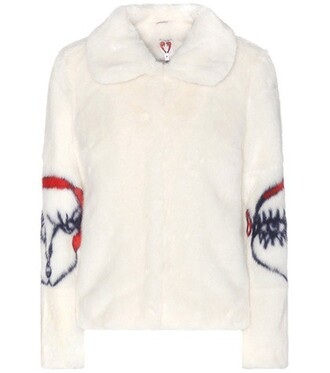 jacket faux fur jacket fur jacket fur faux fur white