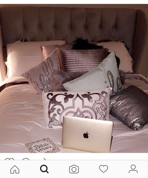 home accessory bedding room accessoires bedroom cute grey sparkle teen bedrooms