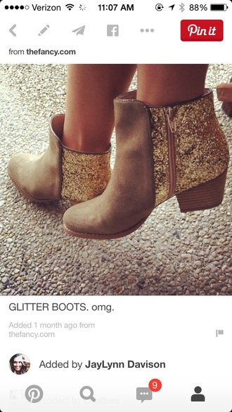 shoes glitter ankle boots glitter boots