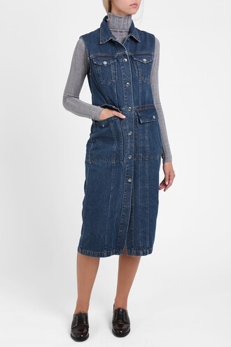 dress denim dress denim women blue