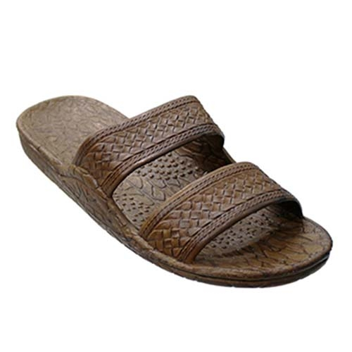 Pali Hawaii Unisex Ph 405 Brown Slide Sandal
