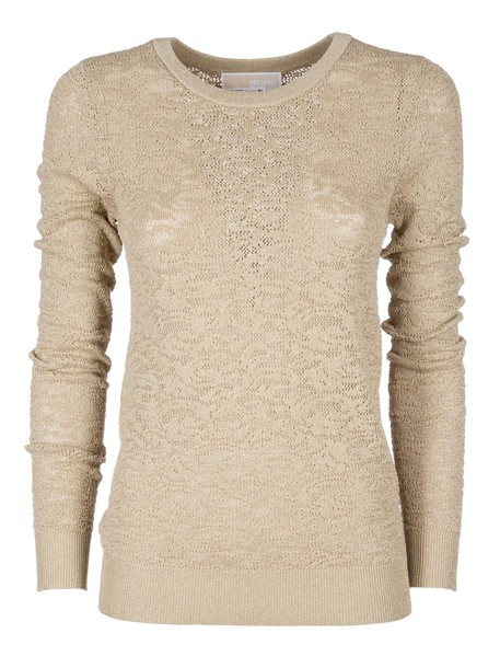 Michael Kors jumper metallic jacquard sweater
