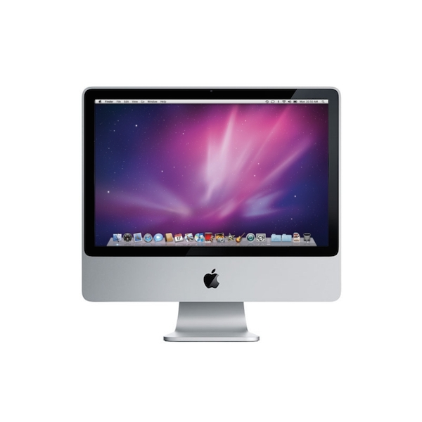 Used apple imac 20 inch core 2 duo early 2009 mb417ll a mac of all trades - Computer desk for imac inch ...