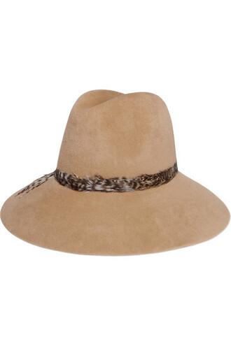 fedora camel hat