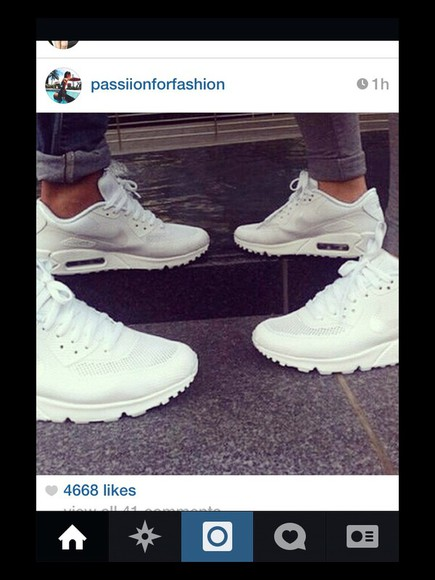 shoes sneakers white air max white trainers