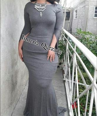 dress grey maxi dress grey dress maxi dress curvy
