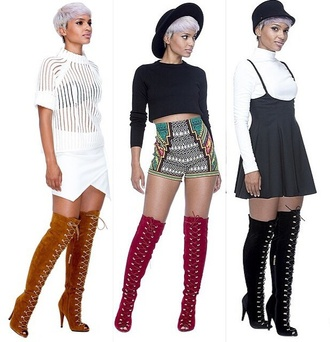 shoes boots shorts high waisted shorts fedora black hat red ribbonn shirt