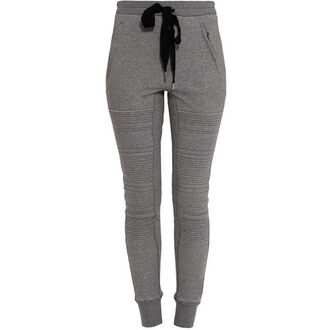 pants dope leggings tumblr swag hipster indie grunge grey sweats streetwear cool harem pants sweatpants jeans sweater hvv1 joggers jiggers pockets zip pockets drawstring philip lim tight