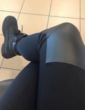 leggings,kneepatches