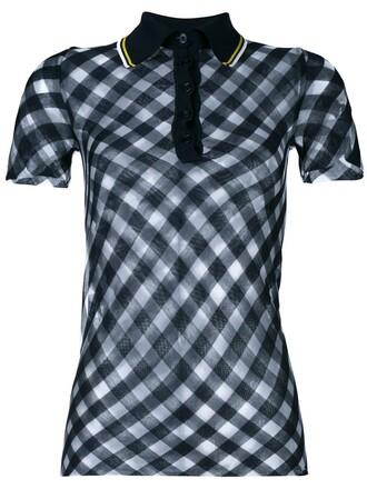 shirt polo shirt blue top