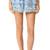 Poupette St Barth Bibi Miniskirt - Blue
