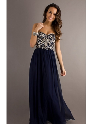 Buy 2013 New Style Bead Strapless Prom Dresses under 300-SinoAnt.com
