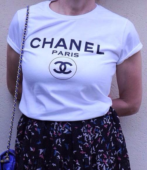 t-shirt chanel t-shirt chanel shirt shirt