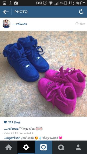 shoes nike sneakers 'pink sneakers