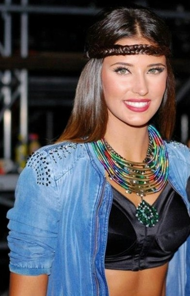 jewels antonia style acessories hair mixed colors