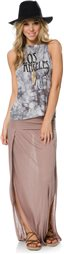 SWELL ANGIE TWO SLIT MAXI SKIRT > Womens > Clothing > Skirts   Swell.com
