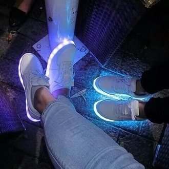 shoes style girls sneakers glow in the dark sport shoes multicolor sneakers